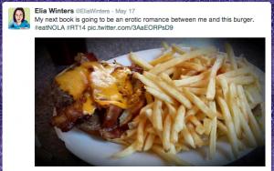 Burger tweet