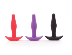 Tantus Little Flirt plug trio