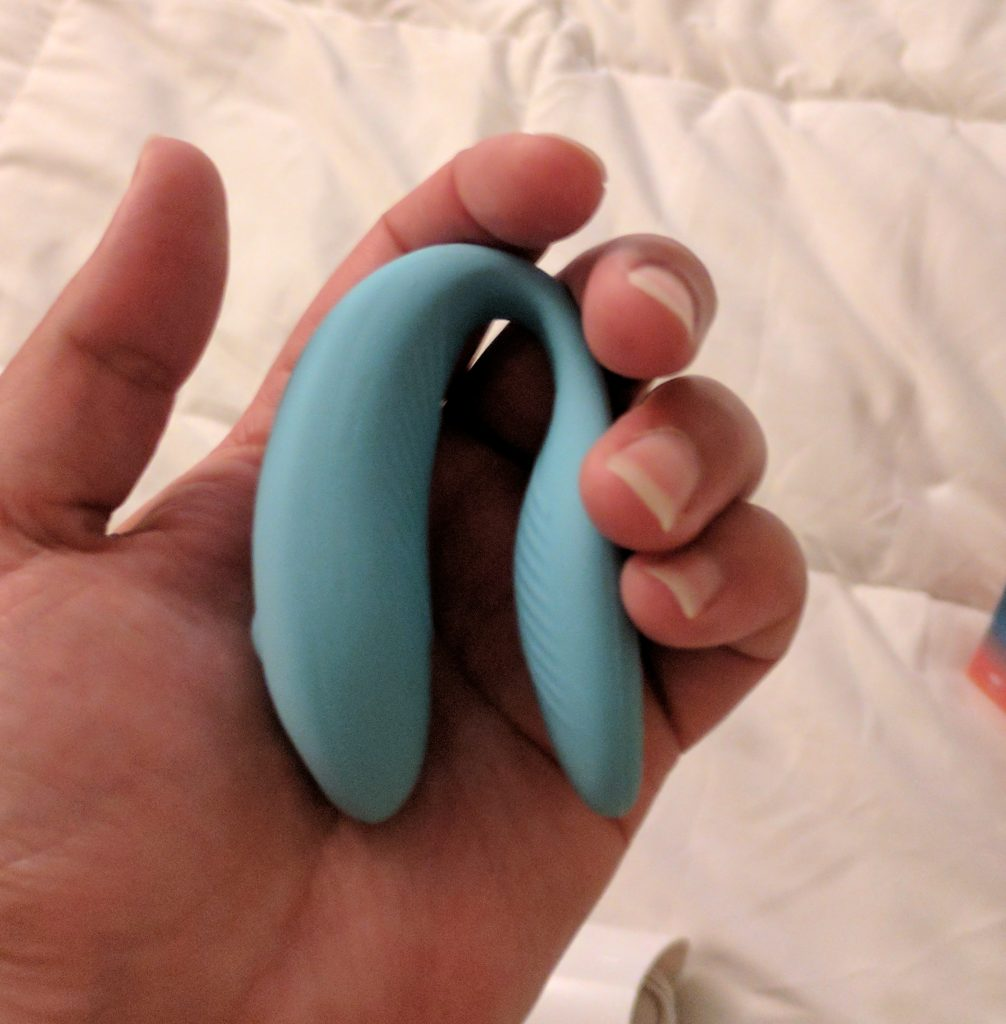 We-Vibe in Hand