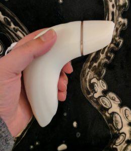 Satisfyer Pro Plus Vibration in hand