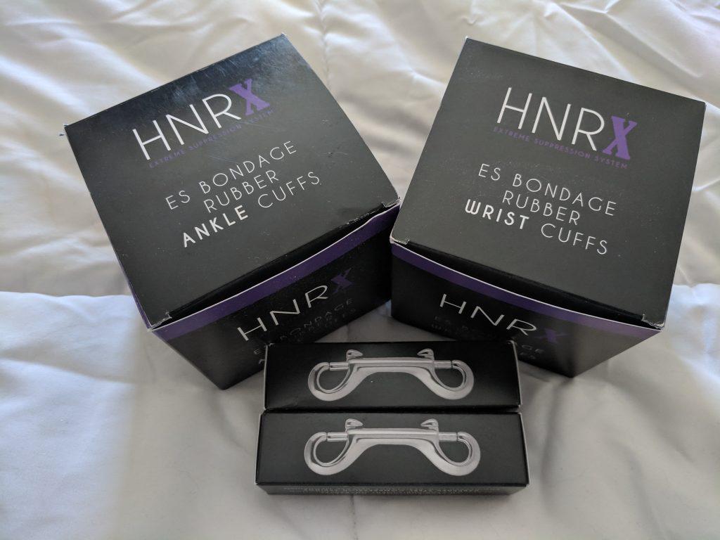 Honour cuffs in box
