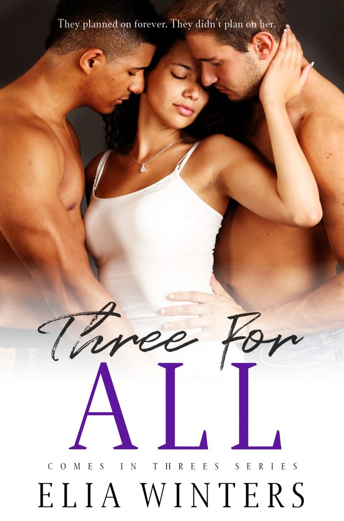 Three For All cover, with two men and one woman about to get it on.