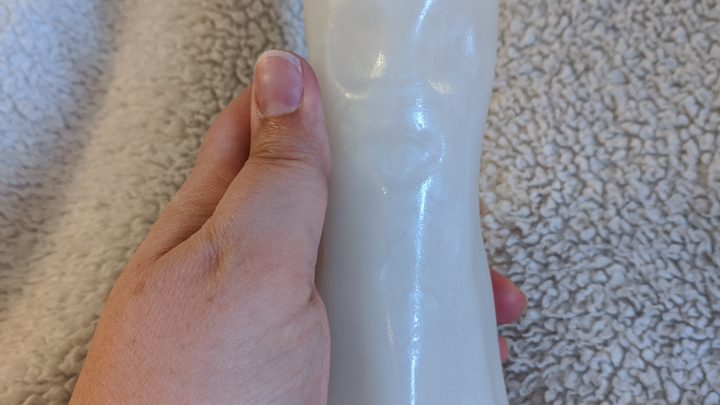Ghost dildo with face