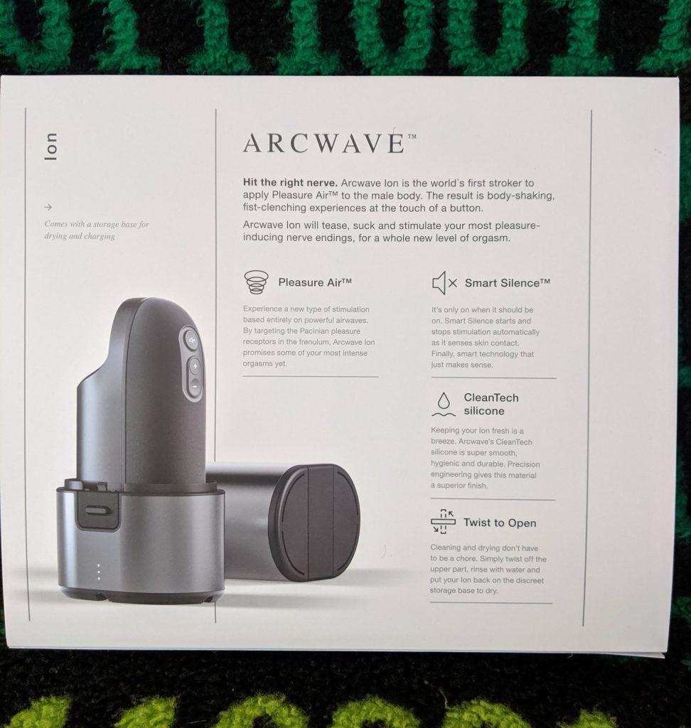 Arcwave Ion back of box