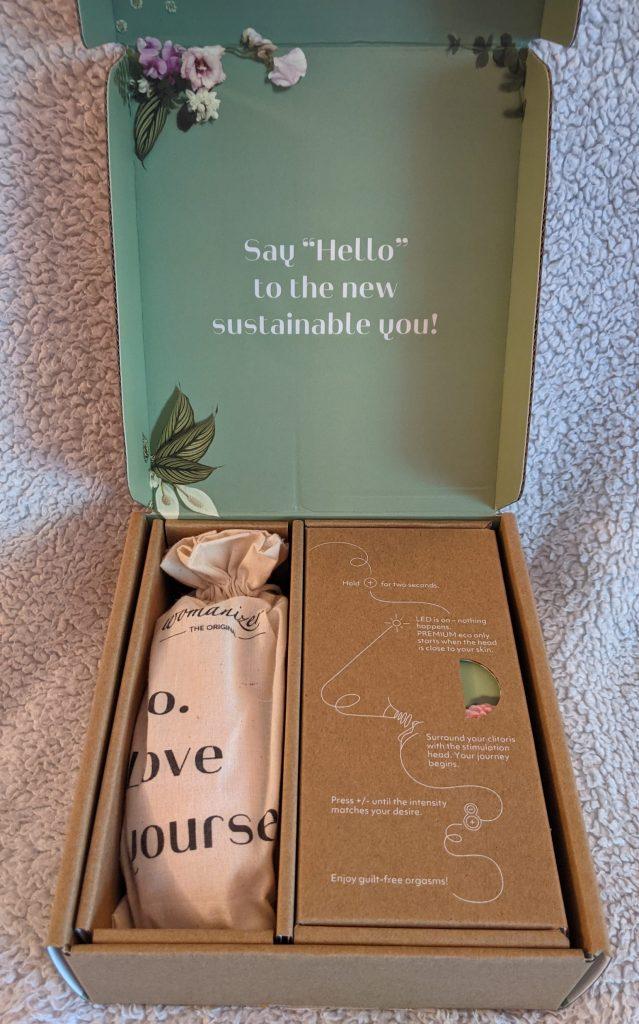 Inside the premium eco box